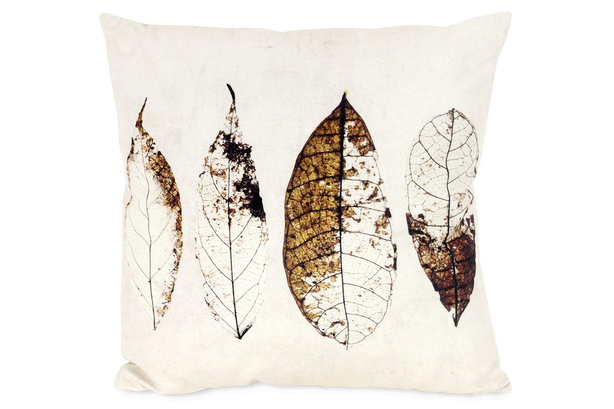 Dekorativní polštář Small Leaves, 45 cm