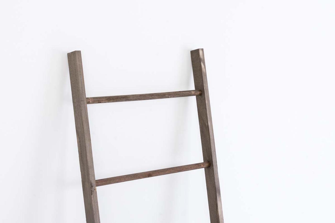 Dekorativní žebřík Mariana, 145,5 cm, tmavě hnědá