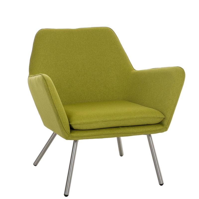 Designové křeslo Carcas zelená