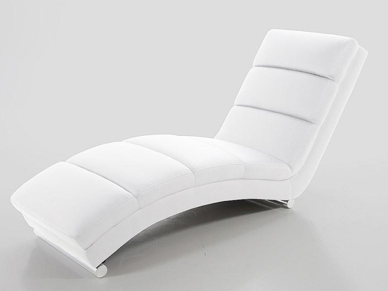 Designové lehátko Grane bílá