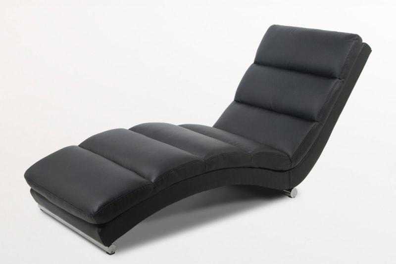 Designové lehátko Grane černá