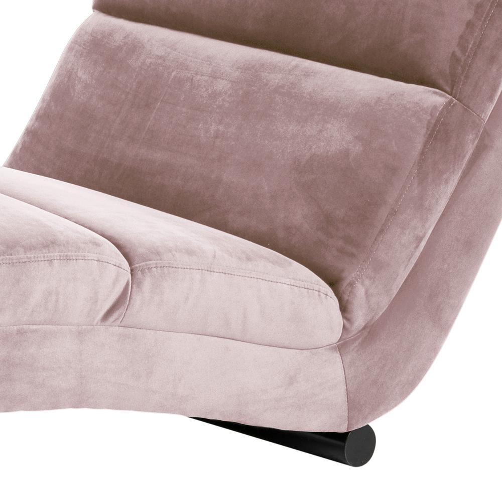 Designové lehátko Grane, růžová