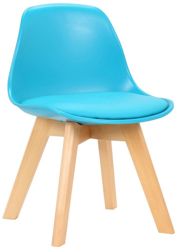 Dětská jídelní židle Lindi, modrá