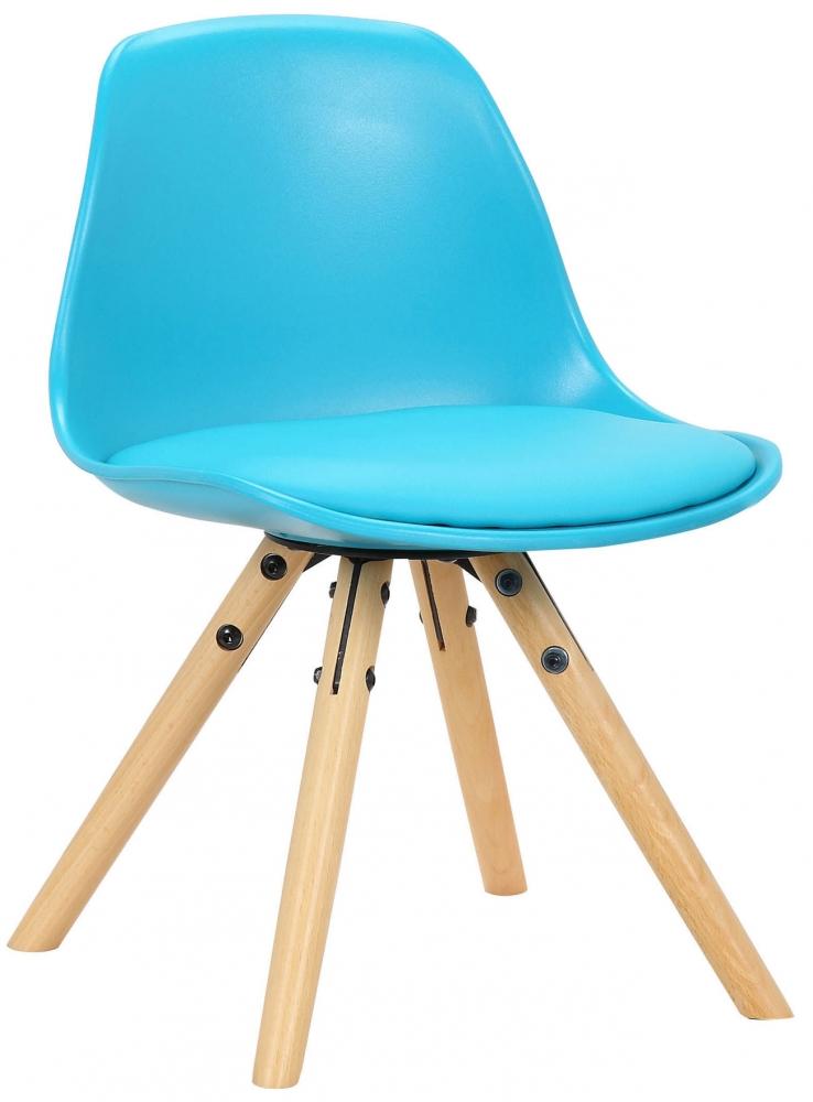 Dětská jídelní židle Nakoni, modrá