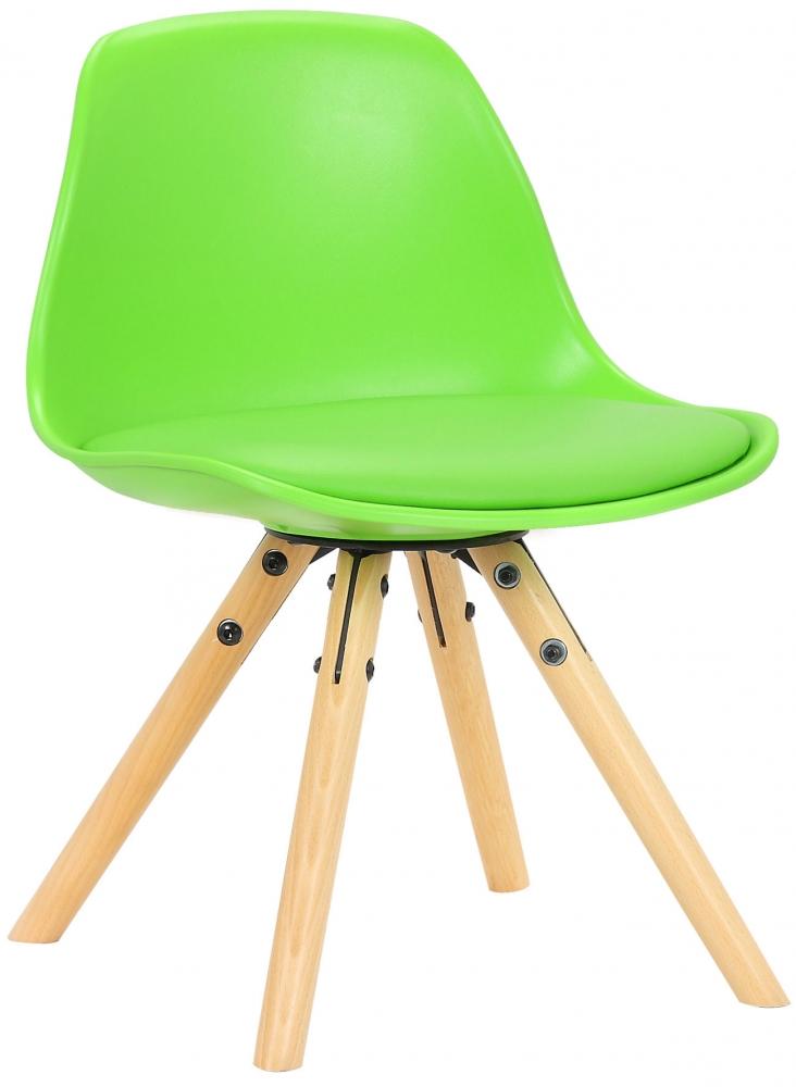 Dětská jídelní židle Nakoni, zelená