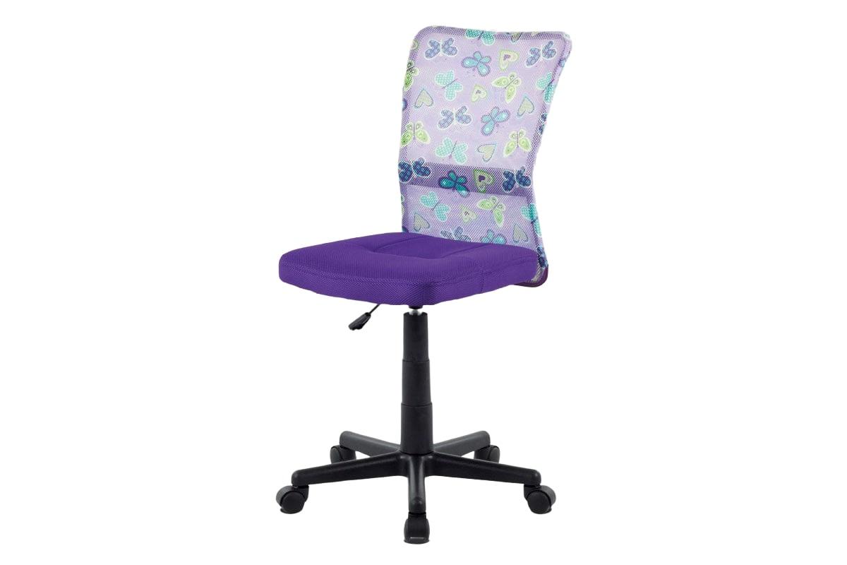 Dětská kancelářská židle Rufin, fialová/motiv