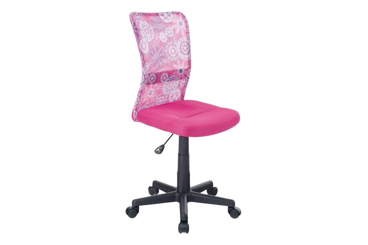 Dětská kancelářská židle Rufin, růžová/motiv