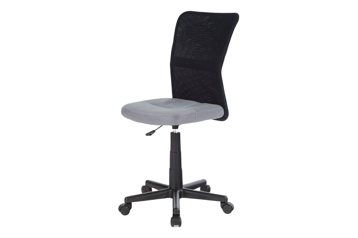 Dětská kancelářská židle Rufin, šedá/černá