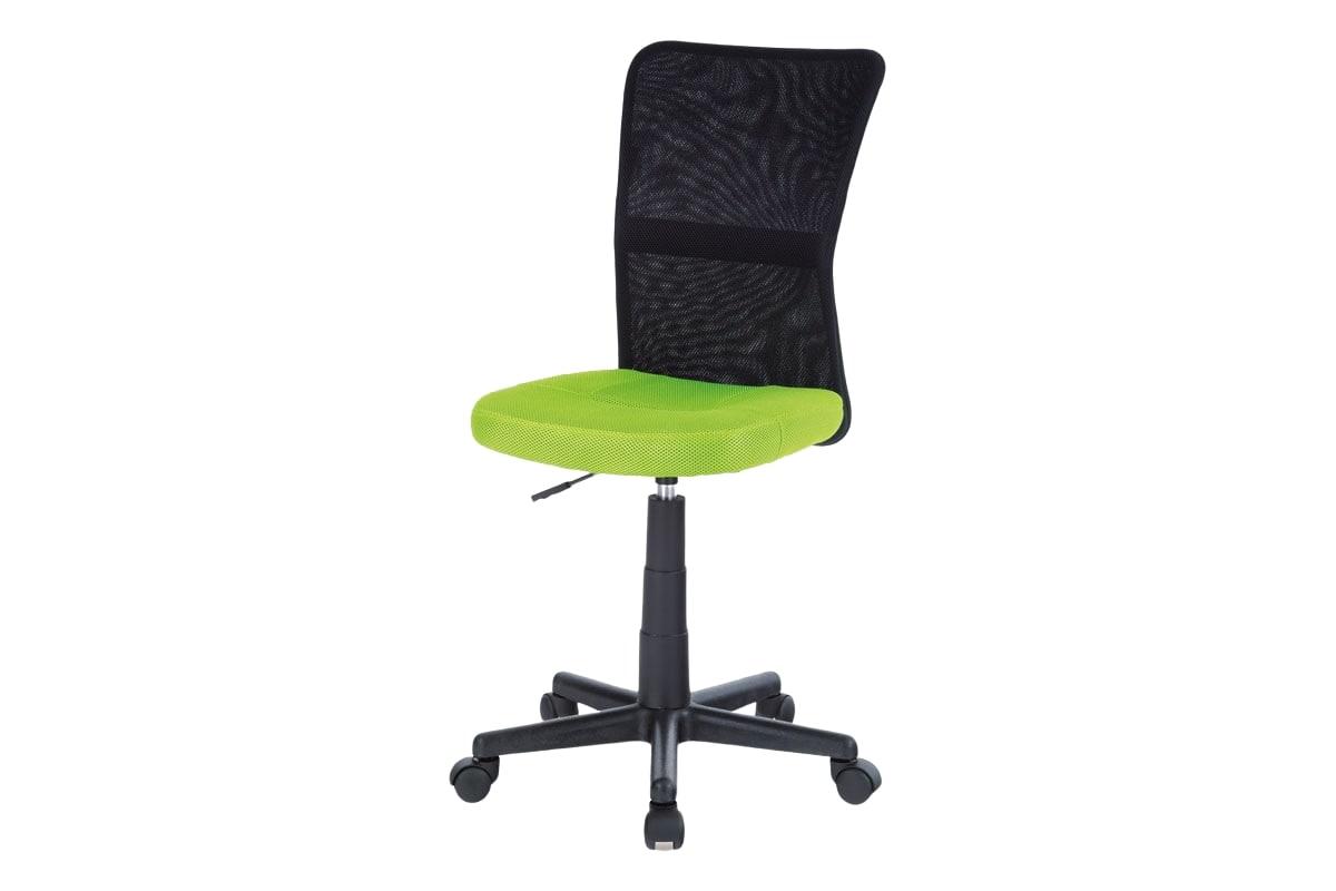 Dětská kancelářská židle Rufin, zelená/černá