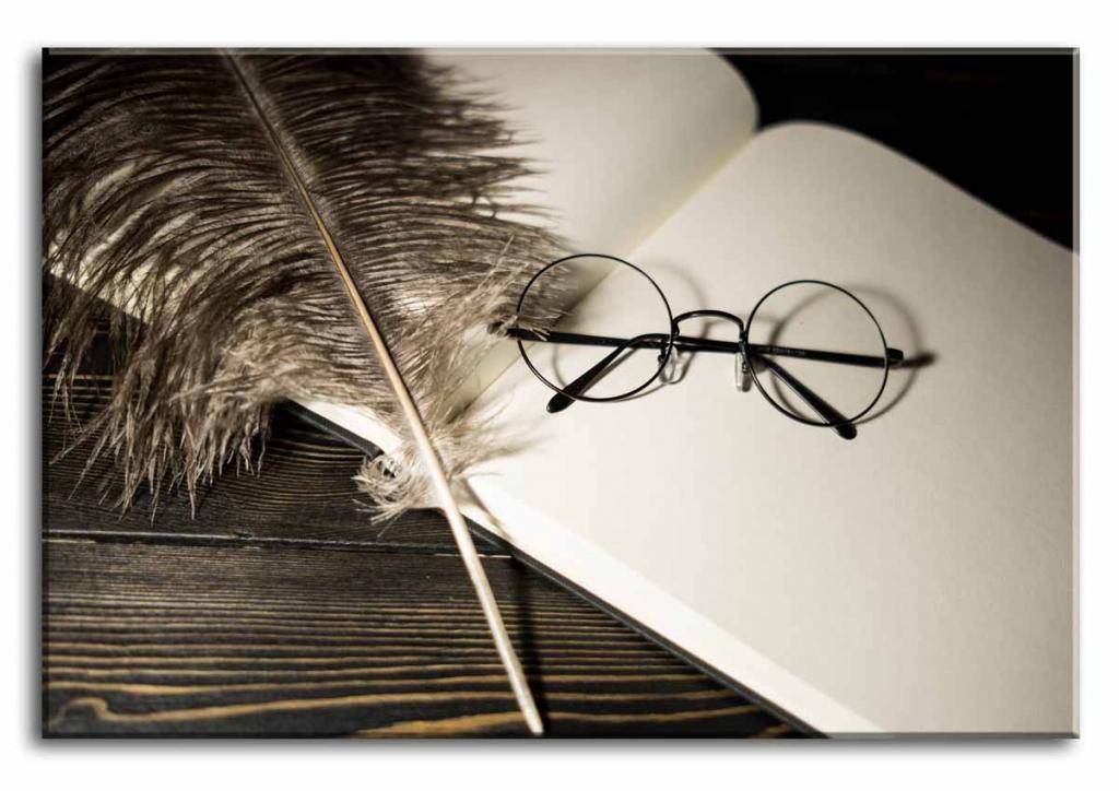 Dětský obraz Deník Harryho Pottera, 90x60 cm
