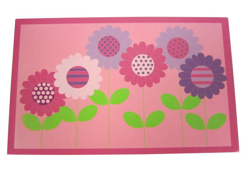 Dětský obraz Květiny, 19x30 cm