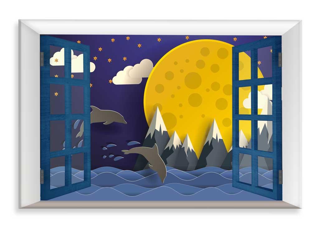 Dětský obraz Sladké sny,90x60 cm