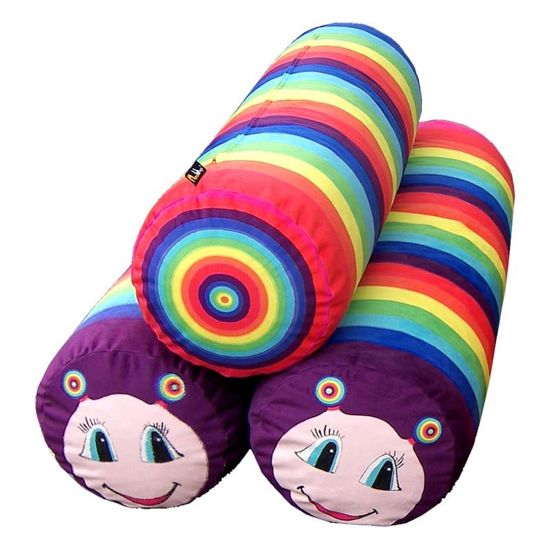 Dětský polštář Rainbow, 130 cm