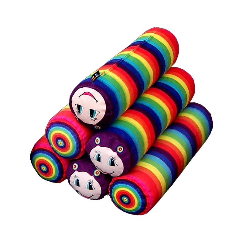 Dětský polštář Rainbow, 49 cm