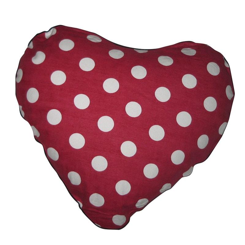 Dětský polštář ve tvaru srdce Missy, 50 cm