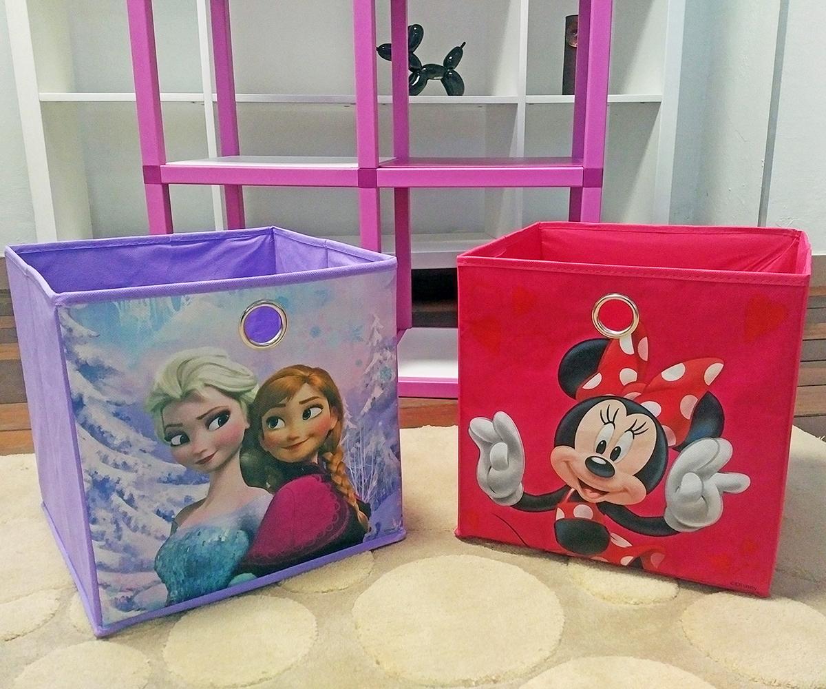 46aa20c683cb ... Detský regál MODlife 6 + 2 úložné boxy Minnie Mouse C a Frozen A - 3