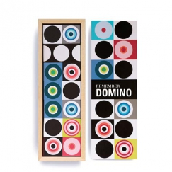 Domino drevené Remember