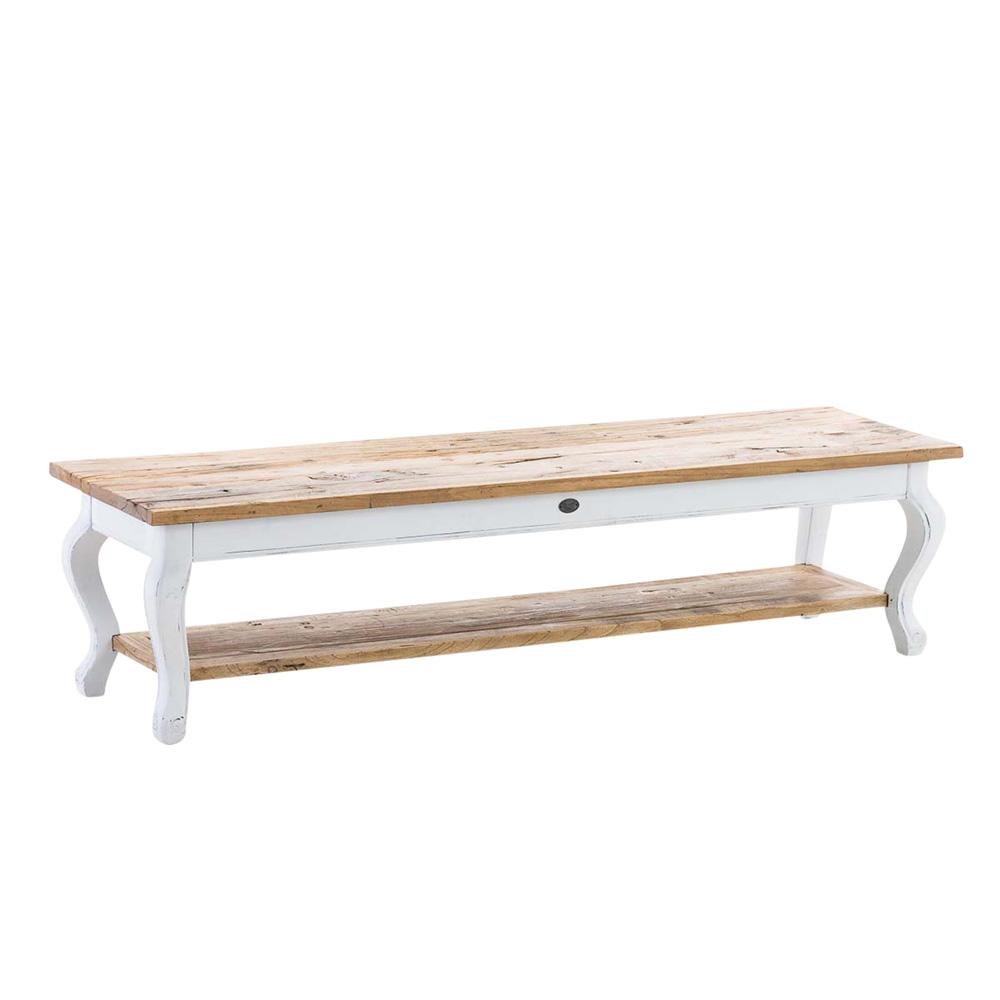 Dřevěný konferenční stolek Martan, 165 cm
