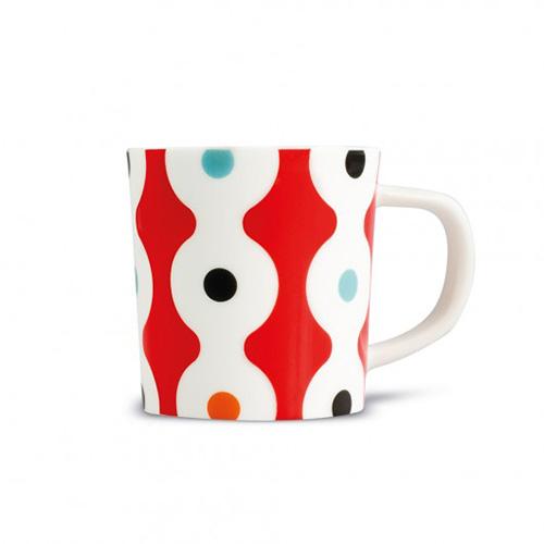 Espresso šálek s podšálkem Dots