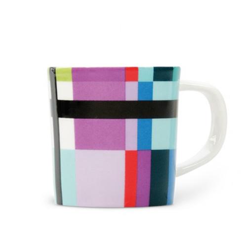Espresso šálek s podšálkem Zigzag