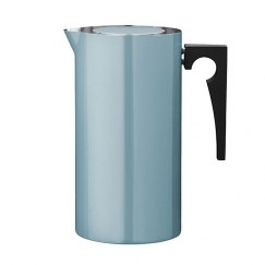 French press Cylinda Line, smalt, 1 l, modrozelená