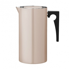 French press Cylinda Line, smalt, 1 l, pudrová