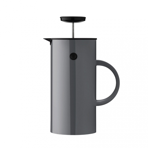 French press na čaj Classic, 1 l, antracitová - 1