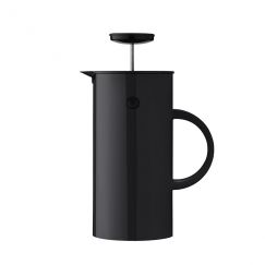 French press na čaj  Classic, 1 l, černá