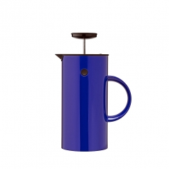 French press na čaj Classic, 1 l, ultramarín