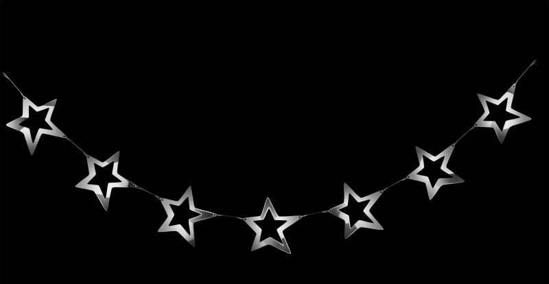 Girlanda z hvězdiček