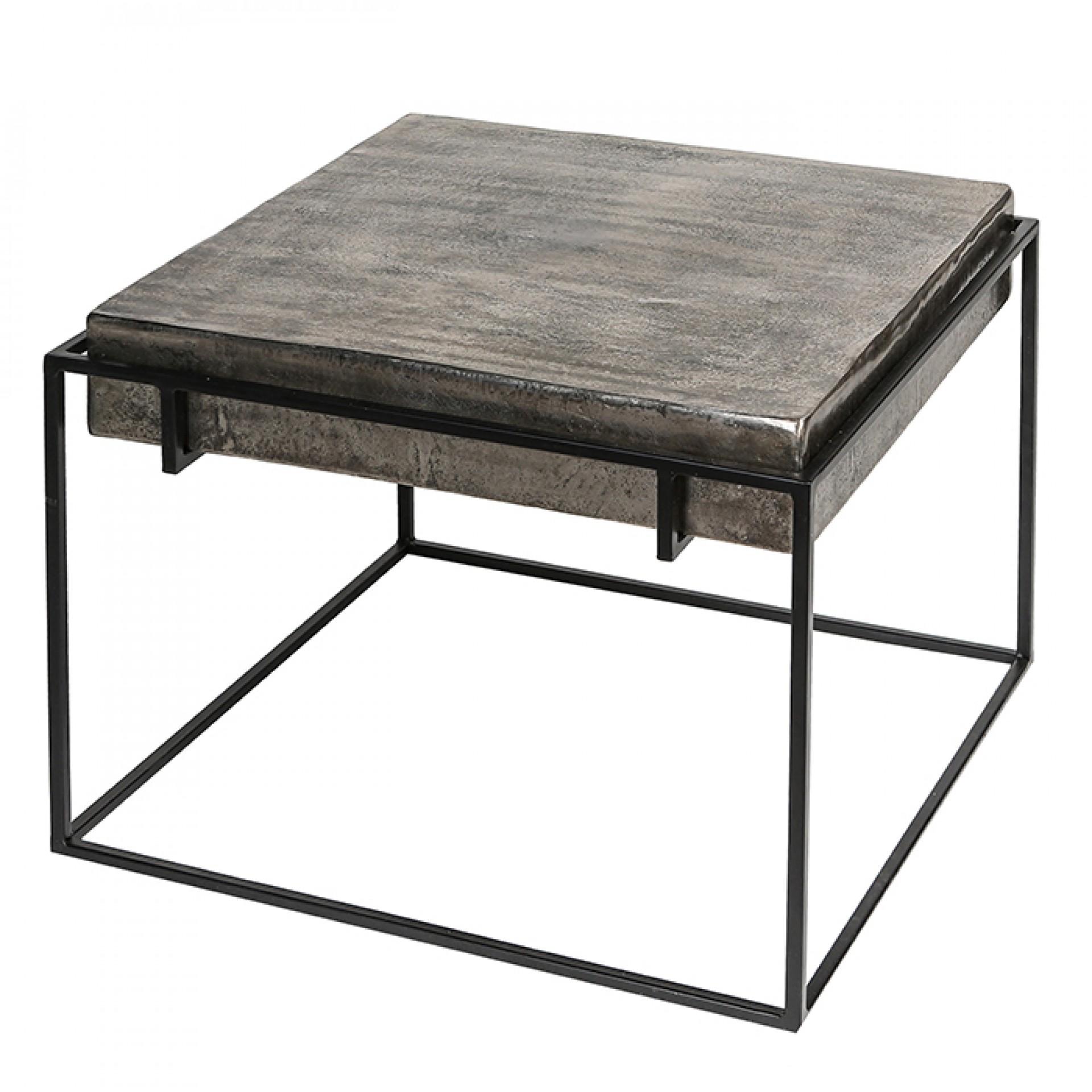 Hliníkový konferenční stolek Millenium, 62 cm
