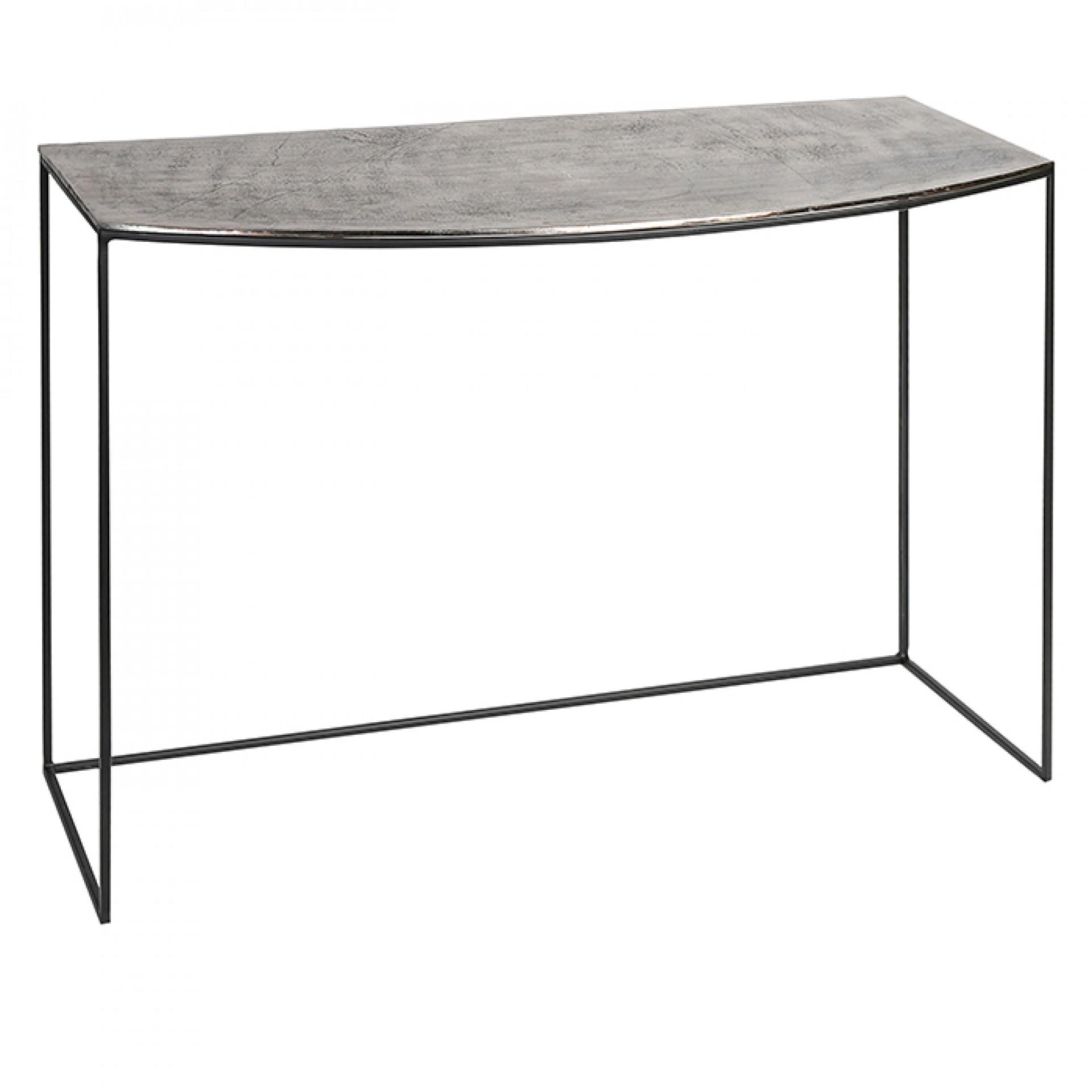 Hliníkový odkládací stůl Millenium, 102 cm