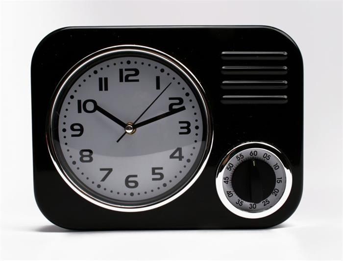 Hodiny s časovačem Timer, 31 cm