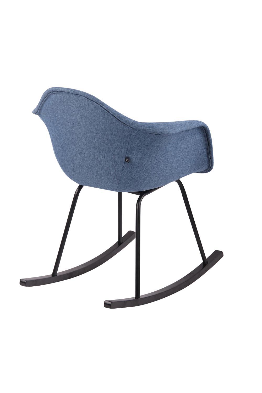Relaxační Houpací Křeslo Gladje V Modré Barvě Design Discount