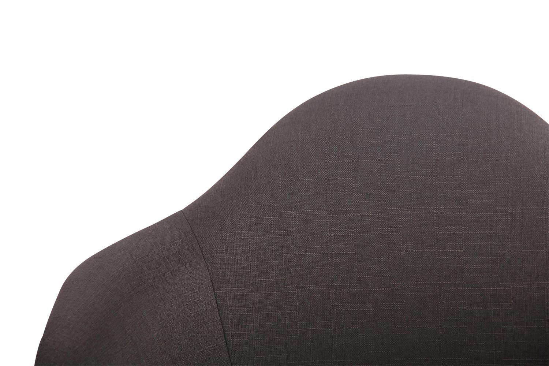 Houpací křeslo Gladje textil, tmavě šedá