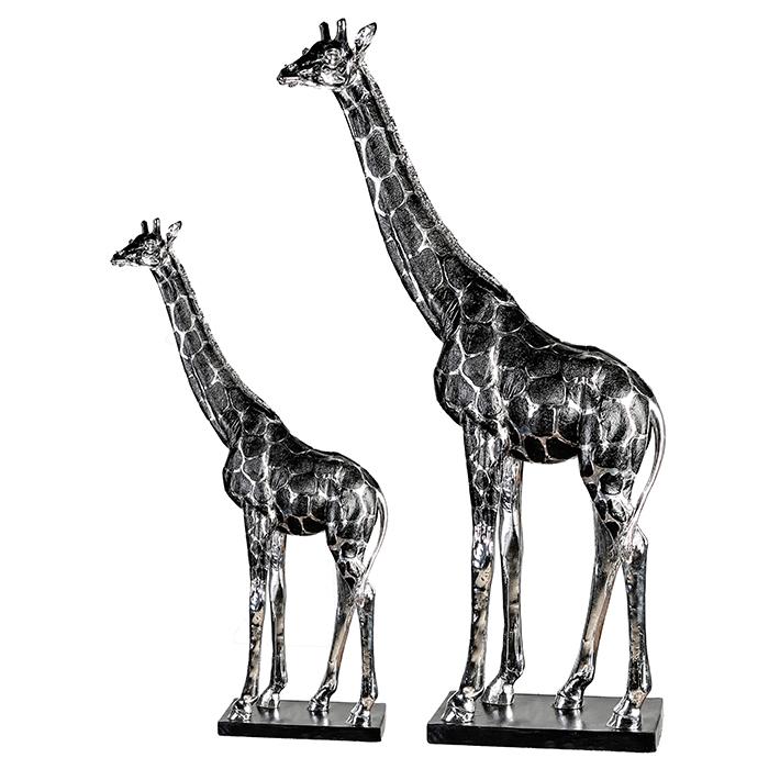 Interiérová dekorace figura Giraffe, 92 cm