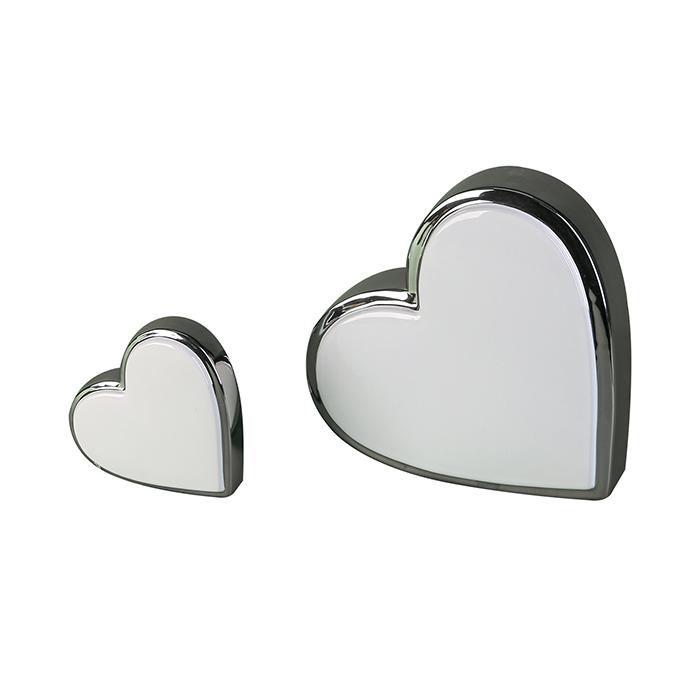 Interiérová dekorace Heart L´amour, 12 cm