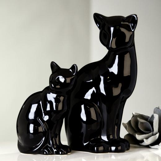 Černá kočička web