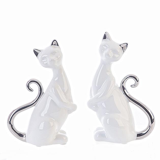Interiérová dekorace kočky Milly, 17 cm