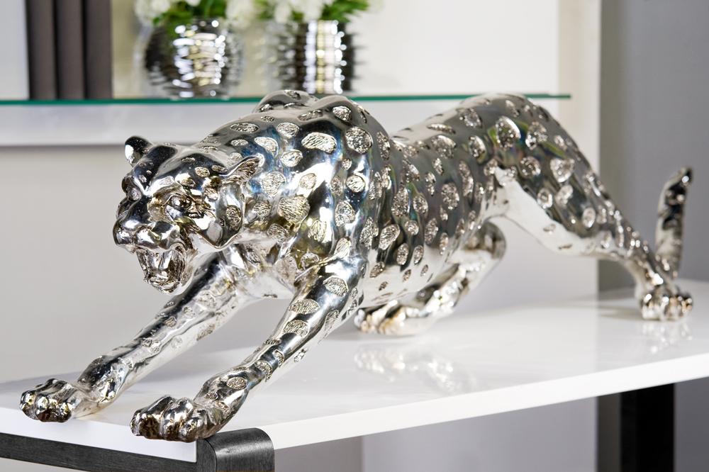 Interiérová dekorace Leopard, 145 cm