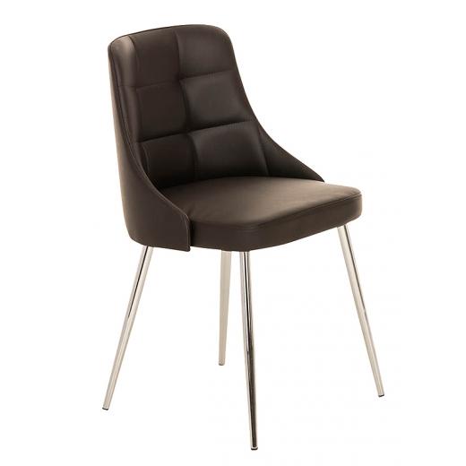 4aed95fb0c68 Konferenčná   jedálenská stolička Milada (SET 2 ks) hnedá