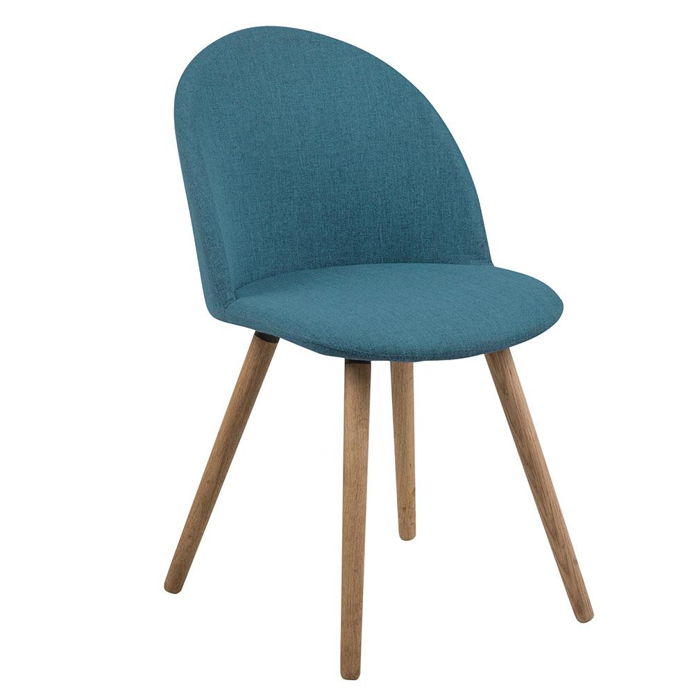 Jedálenská stolička Aneta (SET 2 ks), petrolejová, petrolejová