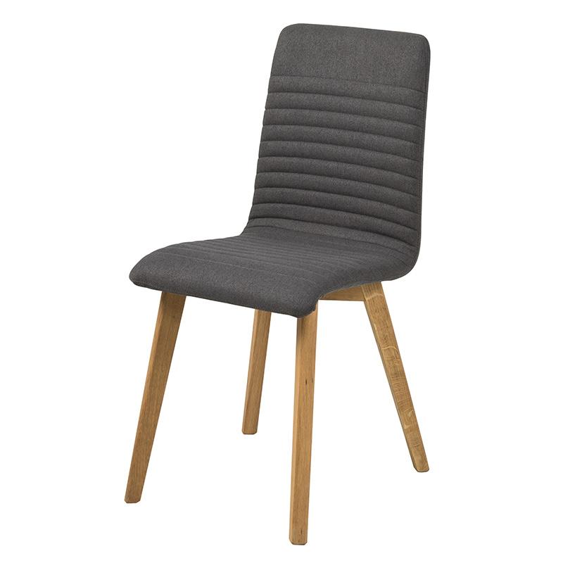 Jedálenská stolička Areta (SET 2 ks), antracitová, antracit