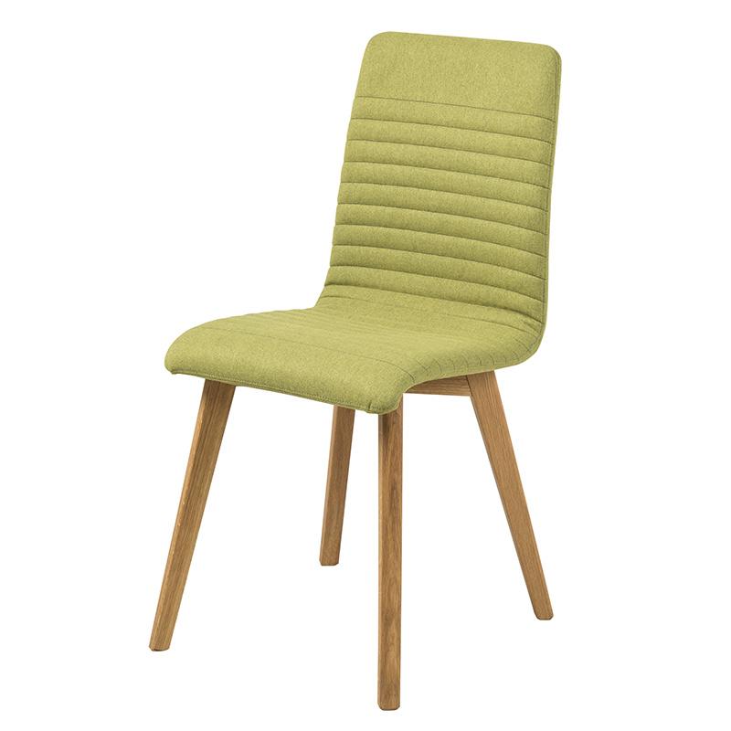 Jedálenská stolička Areta (SET 2 ks), zelená, zelená