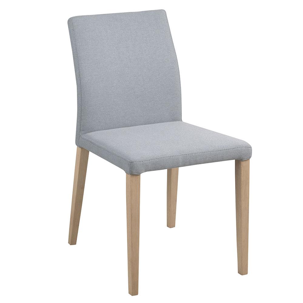 Jedálenská stolička Dita (SET 2 ks), sivá, šedá