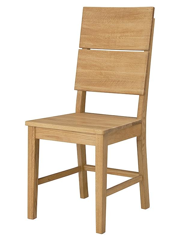 Jedálenská stolička drevená Oslo (SET 2 ks), dub