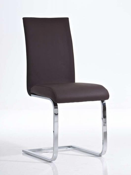 Jedálenská stolička Elly (SET 2ks), hnedá