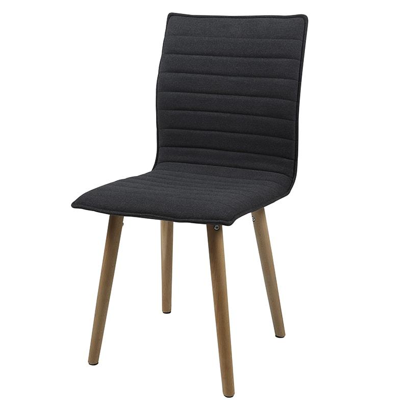 Jedálenská stolička Frida (SET 2 ks) , tmavo šedá