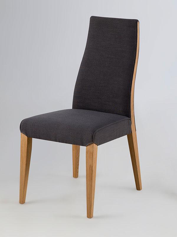 Jedálenská stolička Magic (SET 2 ks), tmavo šedá