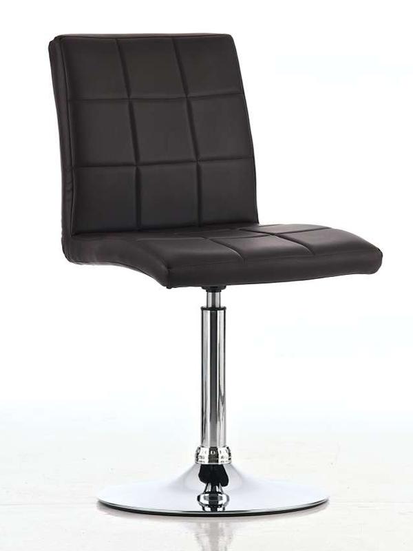 Jedálenská stolička na centálnej nohe Emily (SET 2 ks), biela